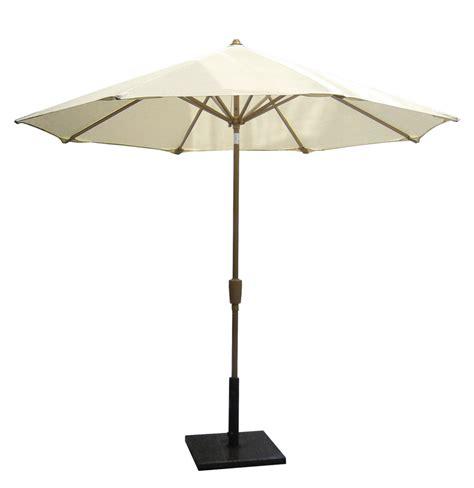 Metal Patio Umbrella Coolaroo Nine Foot Aluminum Patio Umbrella