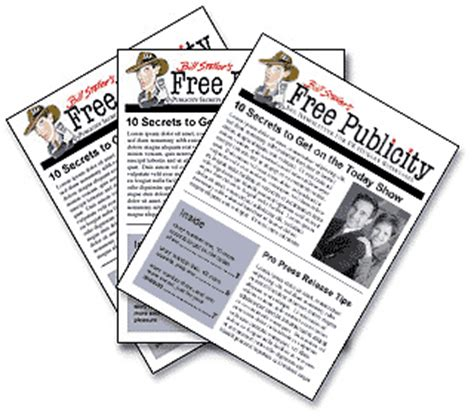 your publicist the pr and publicity secrets that will make you and your business books free publicity the newsletter for pr hungry businesses