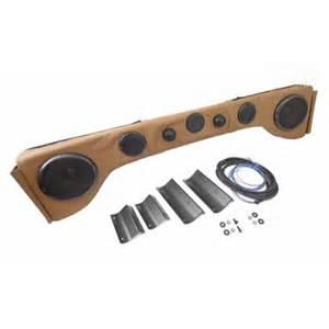 rugged ridge jeep tj lj yj 87 96 6 speaker sound bar