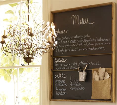 high market chalkboards in the kitchen