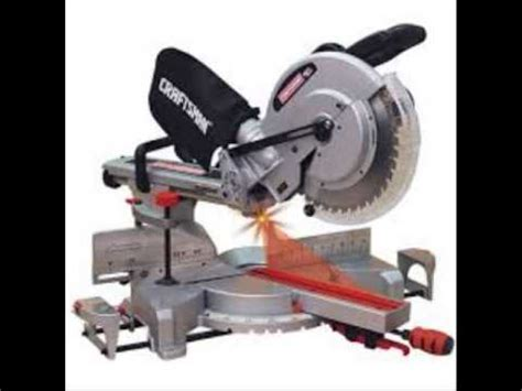 craftsman 10 single bevel sliding compound miter saw 21237
