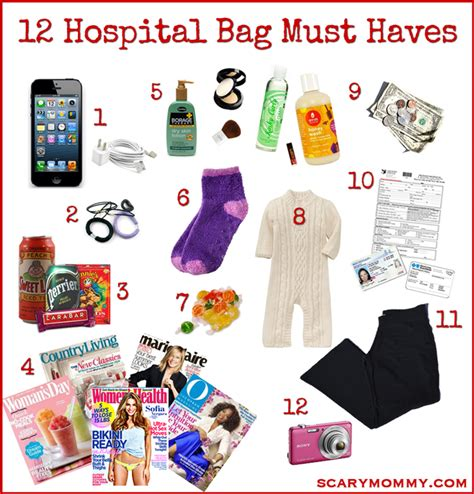 things to take to the hospital for a c section what to really pack in your hospital bag scary mommy