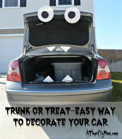 How To Decorate Your Cer by Trunk Or Treat Easy Way To Decorate Your Trunk