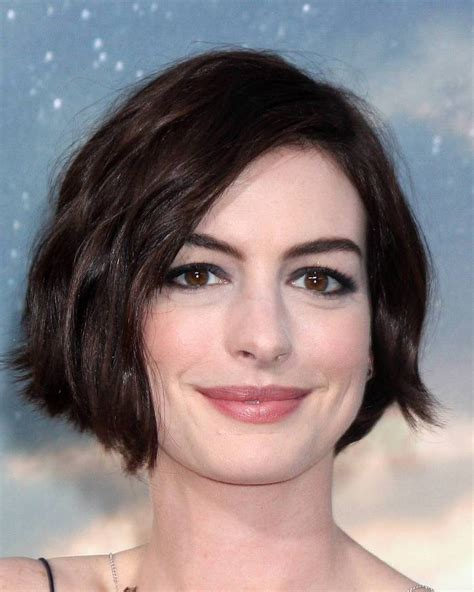 chin length edgy hairstyles edgy chin length bob with a deep side parting