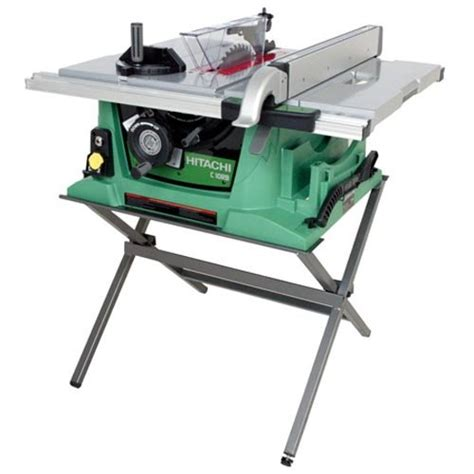 Hitachi Table Saw by Factory Reconditioned Hitachi C10rbrhit Portable 10 Inch
