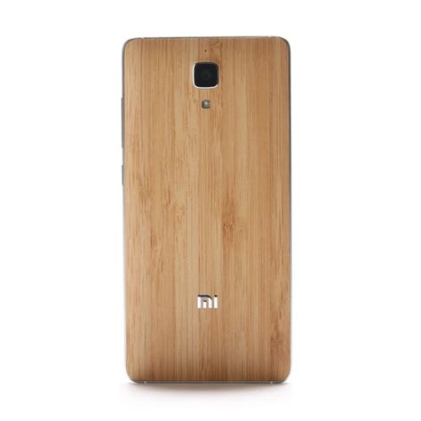 Original Wood Back Stick Xiaomi Mi Note Mi Note Pro original bamboo styleswap cover for xiaomi mi4 100