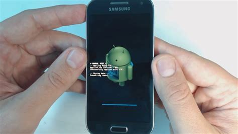 reset a samsung galaxy s4 samsung galaxy s4 mini i9195 hard reset youtube