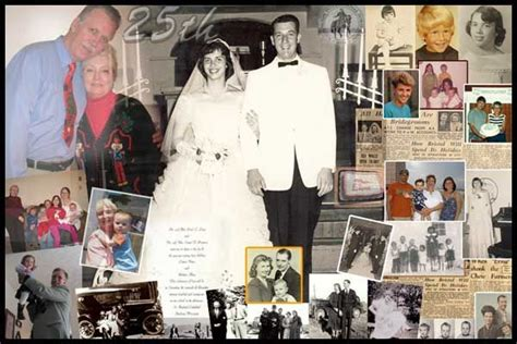 Wedding Anniversary Collage Ideas by 84 Best Anniversary Collage Images On