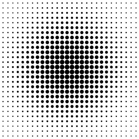 pattern dot black pattern of black dots in the style of halfton stock