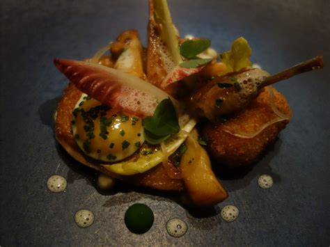 Oolong Smoked Quail Imbb 17 by Review Of Restaurant Pied A Terre By Andy