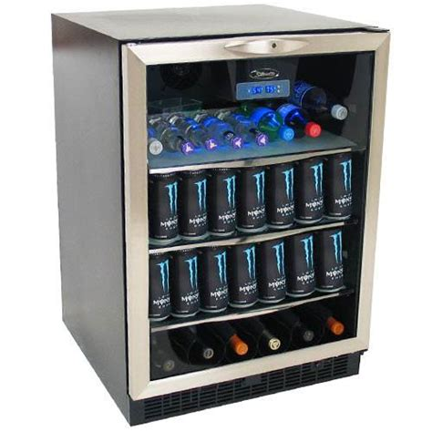 built in beverage center danby 5 3 cu ft built in beverage center dbc514bls