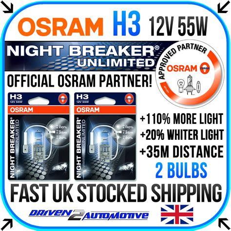Osram Nbr Unlimited Genuine Nbu H1 osram breaker unlimited laser all bulbs available here wholesale price ebay