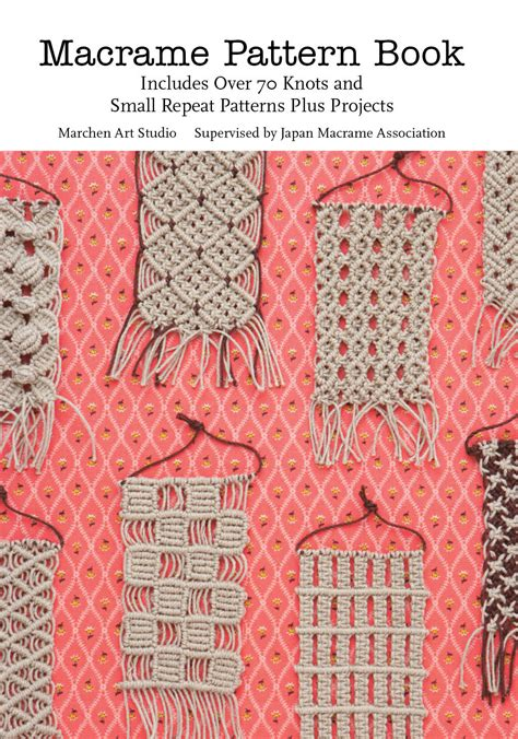 Macrame Projects - macrame pattern book