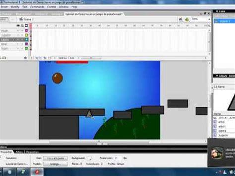 tutorial flash juego de plataformas como hacer un juego de plataformas en flash complejo 3e