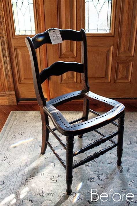 Petite french chair amp how to fix a broken seat