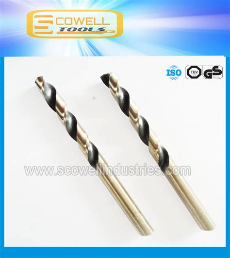 Hss Cobalt Shank Fully Ground Twist Drill 8 5mm Yaiwa best quality m35 hss cobalt shank twist drill bits din338 for stainless steel cutting