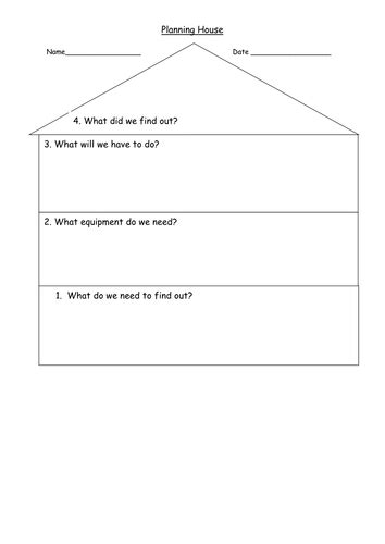 science planning house planning house sheet by shabbychic teaching resources tes
