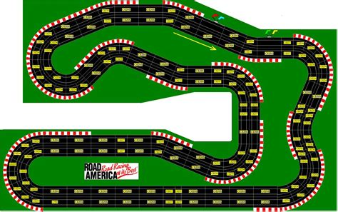 4 Car Garage Plans by Famous North American Racing Circuits In Miniature Slot