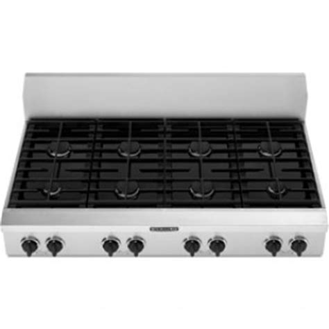Simmer Plate For Gas Cooktop kitchenaid kgcp487jss 48 quot sealed burner commercial style gas cooktop with electronic ignition