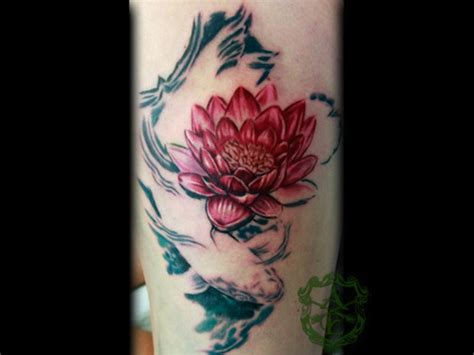 lotus koi tattoo meaning 155 lotus flower tattoo designs