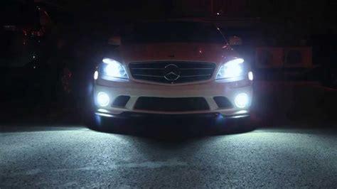 cdi lights w204 c63 p30 amg 6000k hid fog lights