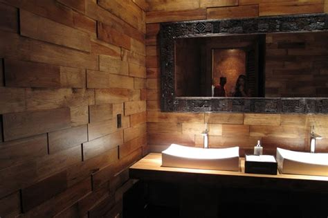 bathroom wall wood panels 17 best images about wood on walls on pinterest warm