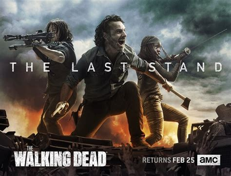 The B Part 2 by The Walking Dead Poster And Plot For Season 8 Part 2 And