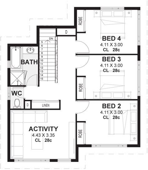 2 story house floor plans 4 bedroom 2 storey house plans designs perth