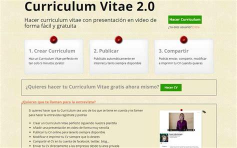 Plantillas De Curriculum Facil Gratis Crea Tu Curriculum Facil Y Gratis Mejores Plantillas De Curriculum Vitae Gratis Y De