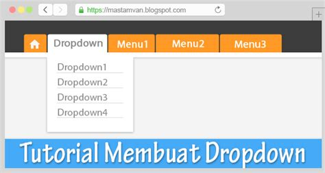 cara membuat menu dropdown html css cara membuat menu dropdown responsive dengan css
