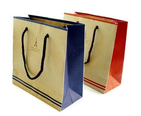 Paper Bag Custom recycled custom design paper shopping bags with logo printed