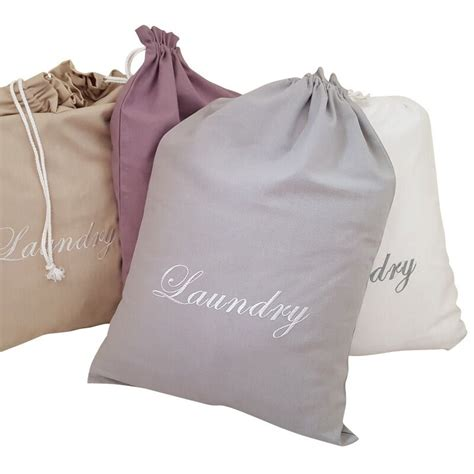 Laundry Pouch 6 In 1 Bag In Bag Travel Organizer Tas Penyekat Tas 4 colors embroidery pattern laundry bag pouch cotton