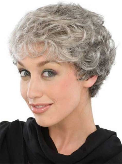 short styles for thick grey hair 15 hairstyles for short grey hair short hairstyles 2017