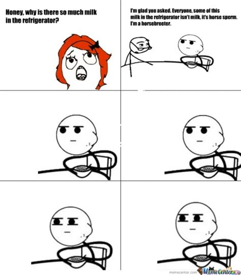 Guy Eating Cereal Meme - pics for gt meme faces cereal guy comics