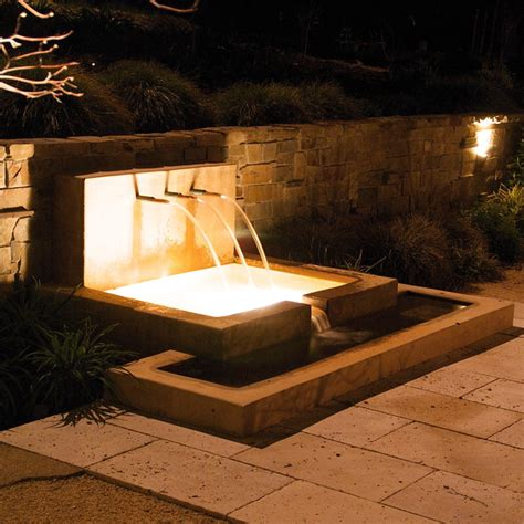 at with retaining wall modern