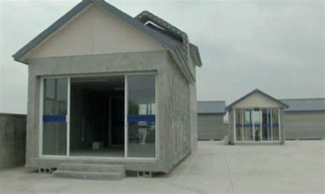 Printing House by 3d Printer Builds Houses In China Technology