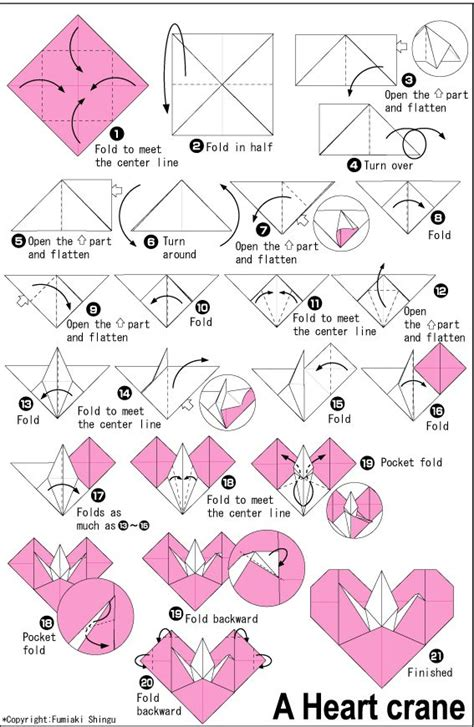 heart pattern origami 369 best origami paper hearts images on pinterest