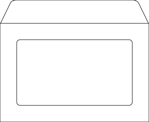 Business Envelopes 6 X 9 Full View Window Envelopes 6x9 Envelope Template