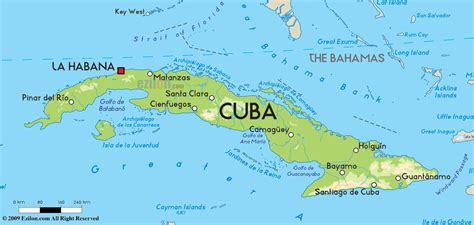 map of usa and cuba road map of cuba and cuba road maps