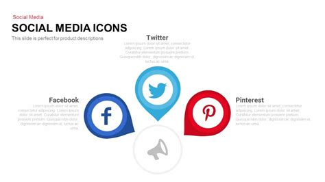 templates for social media social media icons powerpoint and keynote template