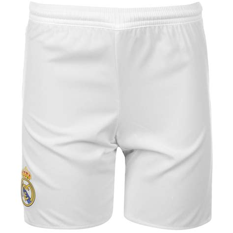 Shorts Go Real Madrid Home 1 real madrid 2015 2016 home shorts white s12616 13 46 teamzo