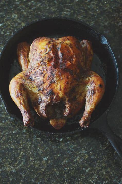 cast iron skillet baked whole chicken stuff i ve made pinterest