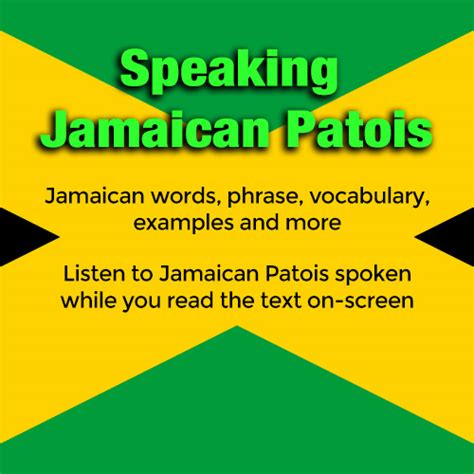 How To Speak Patios by Speaking Jamaican Patois Clickbank
