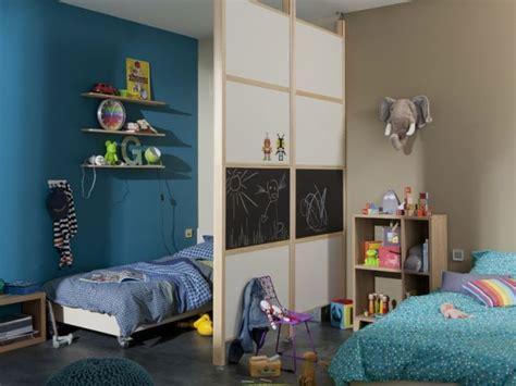 cloison pour separer une chambre une chambre deux enfants billie blanket
