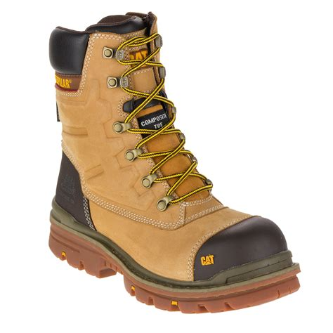 Cat Sefty Boots 1 caterpillar premier mens safety boots 8 quot waterproof