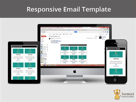 how to design responsive email template mailget