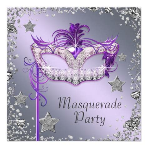 masquerade invitation template personalized masquerade invitations