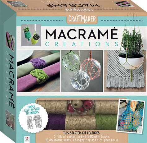Macrame Kits - craftmaker macrame creations kit craft kits