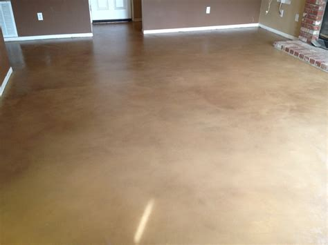 Interior Concrete Floor Stain by Interior Stained Concrete Floor Things I D Like For The