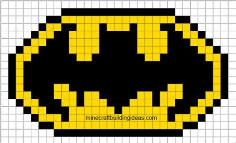 Minecraft Pixel Templates Batman minecraft pixel templates october 2012